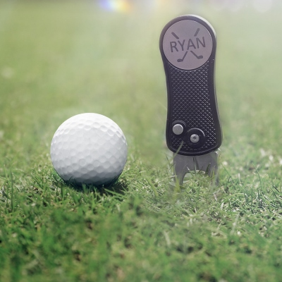 Custom Golf Ball Marker Divot Tool for Men's Gift