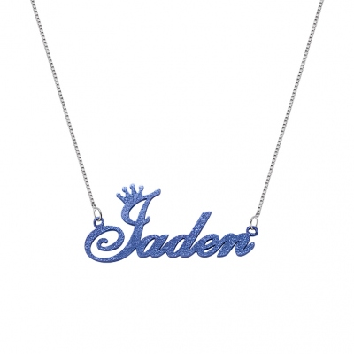 Personalized Colorful Name Necklace