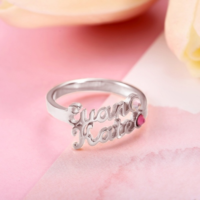 family  name ring