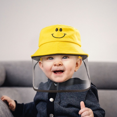 Baby Hat with Removable Full Face Shield