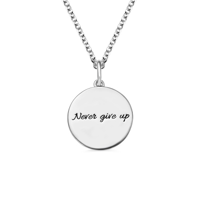 Silver Basketball Necklace with Engraved Number and Birthstone
