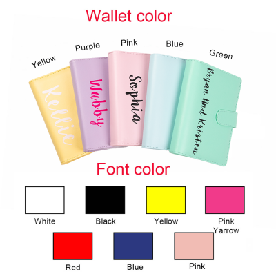 Personalized Cash Envelope System Budget Binder