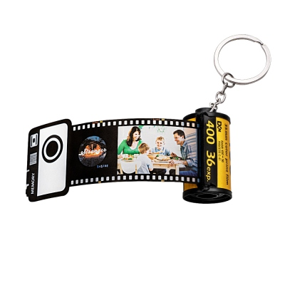 Custom 20 Photos Keychain Romantic Gifts for Lovers & Friends