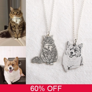 Personalized Pet Necklace 60% Off