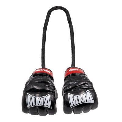 Personalized MMA Fighters Gloves Car Ornament