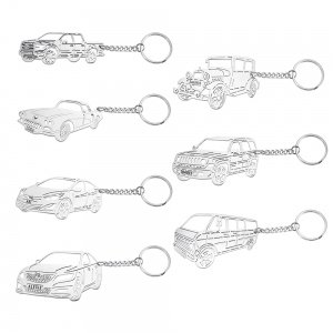 Personalized Car Keychain in Any Model