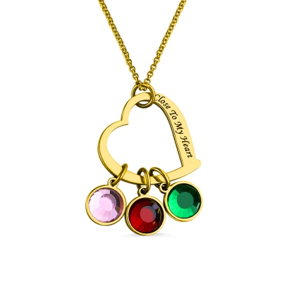 Personalized Close to My Heart Necklace