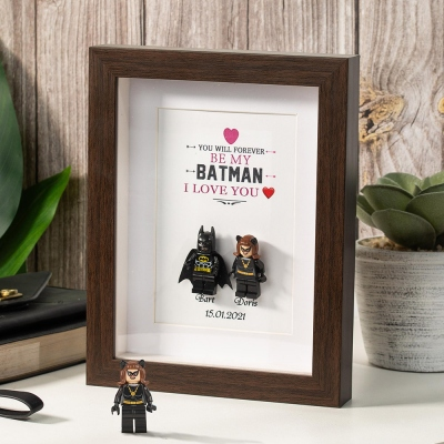 Customized Superhero Frame for Couple