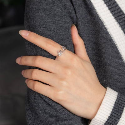 Personalisierter Pinky Promise Ring