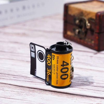Personalized Film Roll Keychain Romantic Gift for Lovers