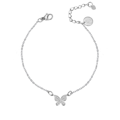 Custom Butterfly Anklet Bracelet Foot Chain