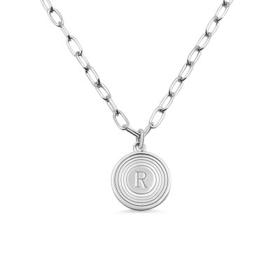 Personalized Initial Link Necklace