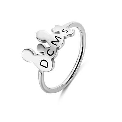 Personalized Family Members & Pet Figures Ring