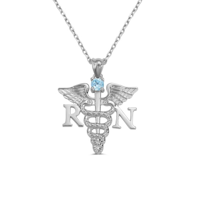 Medical Theme Necklace Jewelry Gift for Nurses & Doctors