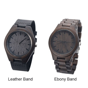 Wooden watch for couples