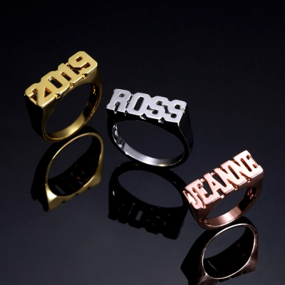 Word name ring