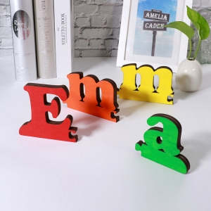 Personalized Wooden Name Puzzle Gift for Toddler