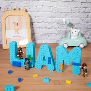 Personalized 3D Printed Name Logo