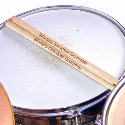 Personalized Maple Drum Sticks
