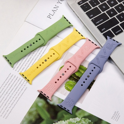 Personalized Apple Replacement Watch Band for Teachers