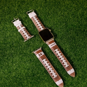 Personalized Baseball/Football Watch Band for Apple Watch