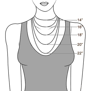 necklace size