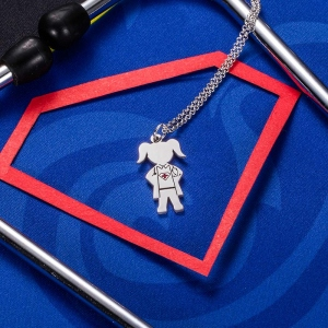 Personalized Super Hero Necklace for Doctor