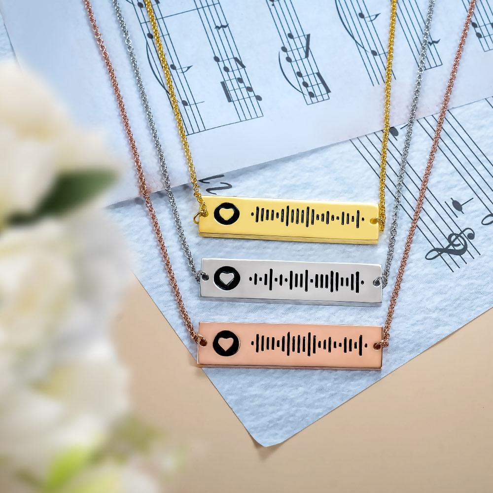 Musique personnalis/ée Spotify Porte-cl/és personnalis/é Spotify Scan Code Carte /à Musique Porte-cl/és en Acier Inoxydable Gravure Laser Spotify Code Plaque Porte-cl/és Pendentif Cadeau danniversaire