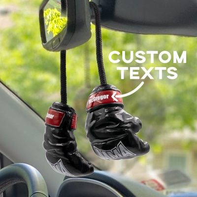 Personalized Car Ornament MMA Fighters Gloves