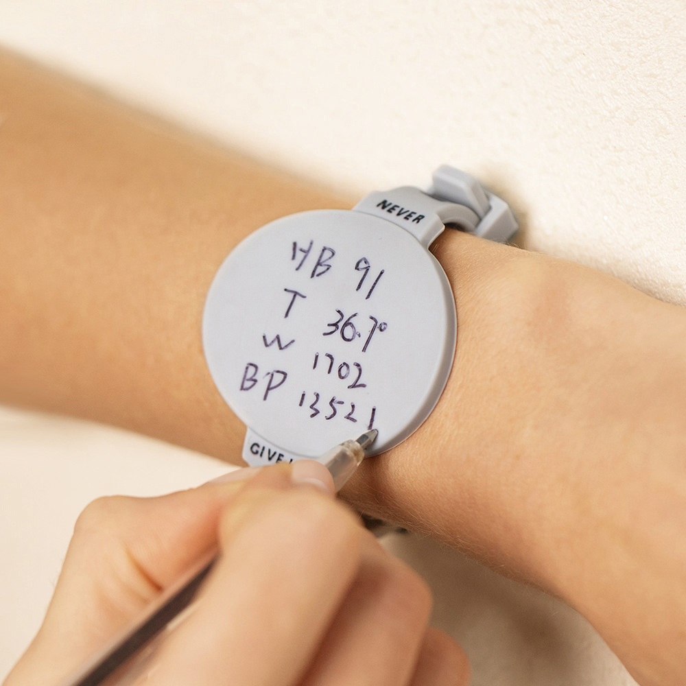 Personalized Erasable Silicone Note Wristband Gift For Nurses/Students