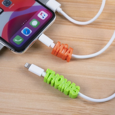 3D Print Personalized Glow Name USB Cable