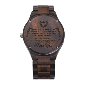 Wooden watchfor couples