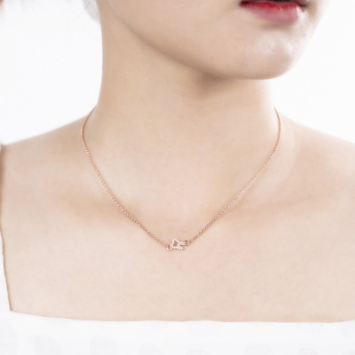Cute Tooth Necklace in Sterling Sliver
