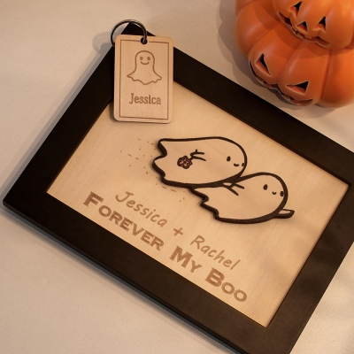 Personalized Ghost Decor for Couples