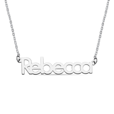 Make Your Own Name Necklace Sterling Silver
