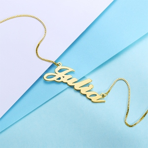 Name Chain Jewelry