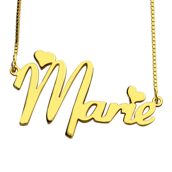 0d7e94cc06b657 Personalized Nameplate Necklace for Girls 18K Gold Plated. $ 49.99 $ 29.99